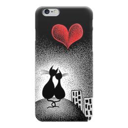 """Чехол для iPhone 6 """"Любовь """" - влюблённые"""