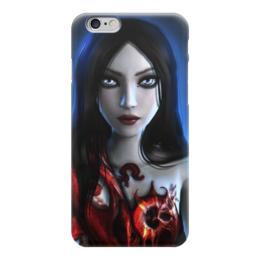 """Чехол для iPhone 6 """"Алиса в Стане Чудес"""" - alice"""