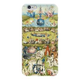 """Чехол для iPhone 6 """"Сад земных наслаждений"""" - картина, сад, искусство, босх"""