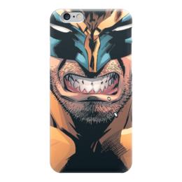 "Чехол для iPhone 6 глянцевый ""Росомаха"" - росомаха, логан, люди икс, wolverine, x-men"