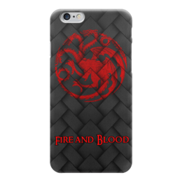 "Чехол для iPhone 6 ""Игра Престолов!!!"" - герб, девиз, драконы, игра престолов, game of thrones"