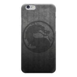 "Чехол для iPhone 6 глянцевый ""Мортал Комбат (Mortal Kombat)"" - mortal kombat, смертельная битва, мортал комбат, мк"
