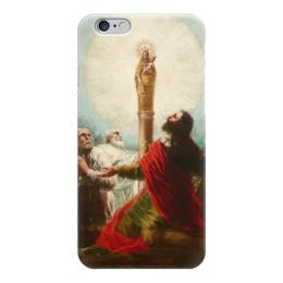 """Чехол для iPhone 6 """"Иаков с учениками поклоняются Деве дель Пилар"""" - картина, гойя"""
