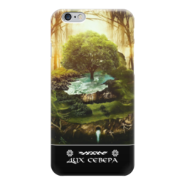 """Чехол для iPhone 6 """"Дух Севера"""" - животные, лес, природа, animal, путь воина"""