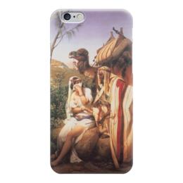 """Чехол для iPhone 6 глянцевый """"Иуда и Фамарь (Орас Верне)"""" - картина, верне, библия, ветхий завет"""