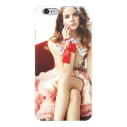 """Чехол для iPhone 6 """"LANA DEL REY """" - lana del rey, лана дель рей"""
