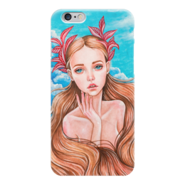 "Чехол для iPhone 6 ""Русалочка"" - арт, девушка, сказка, русалочка, модерн"