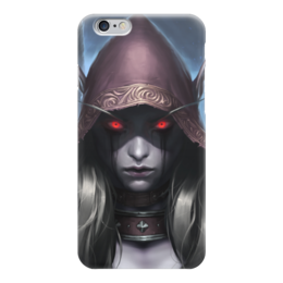 "Чехол для iPhone 6 ""Sylvanas Windrunner"" - wow, world of warcraft, вов, варкрафт, сильвана"
