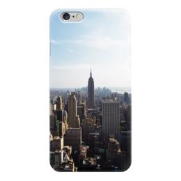 """Чехол для iPhone 6 """"new york buildings """" - new york, empire state building"""