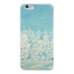 """Чехол для iPhone 6 """"Зимний лес"""" - зима, зимний лес, валерия меценатова"""