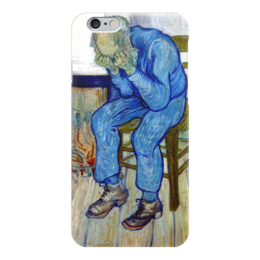 """Чехол для iPhone 6 """"На пороге вечности"""" - картина, ван гог"""