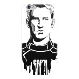 "Чехол для iPhone 6 ""Капитан Америка"" - комиксы, кэп, мстители, марвел, captain america"