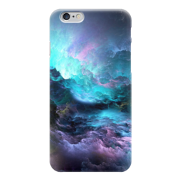 """Чехол для iPhone 6 """"Космос"""" - краски, разноцветное, сияние, завораживающее"""