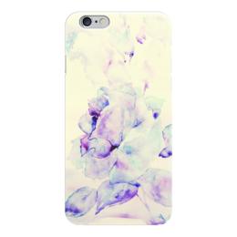 """Чехол для iPhone 6 """"Зимняя рапсодия"""" - цветок, роза, нежность, розы, акварелью"""