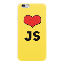 "Чехол для iPhone 6 ""Love JS"" - javascript, программирование, js"