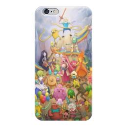 "Чехол для iPhone 6 глянцевый ""Время Приключений"" - мульт, время приключений, adventure time"