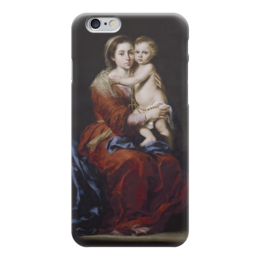 """Чехол для iPhone 6 """"Мадонна с чётками"""" - картина, мурильо"""