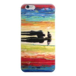 "Чехол для iPhone 6 ""Абстракция"" - рисунок, дождь, краски, абстракция, арт дизайн"