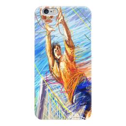 "Чехол для iPhone 6 ""Футбол 2018"" - чемпионат европы, турнир, футбол 2016, евро-2016, матч"