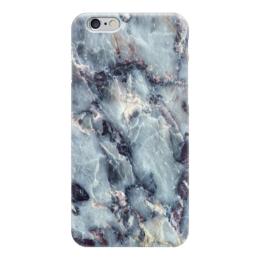 """Чехол для iPhone 6 """"Мрамор"""" - салатовый, белый, черный, голубой, розовый"""