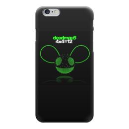 "Чехол для iPhone 6 ""Deadmau5"" - dj, deadmau5, дэдмаус"
