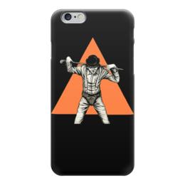 """Чехол для iPhone 6 """"Заводной апельсин"""" - арт, clockwork orange, заводной апельсин, кубрик, антиутопия"""
