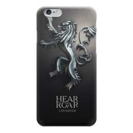 "Чехол для iPhone 6 ""Игра Престолов (Game of Thrones)"" - герб, игра престолов, ланнистеры"