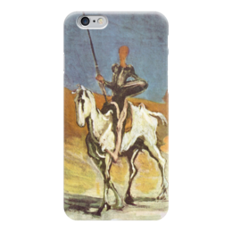 "Чехол для iPhone 6 глянцевый ""Дон Кихот (картина Оноре Домье)"" - картина, домье"