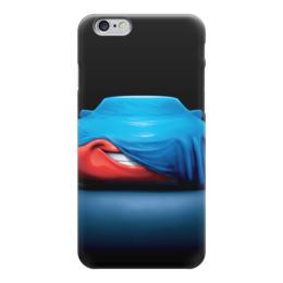 """Чехол для iPhone 6 """"Тачки"""" - мультфильм, дисней, машина, тачки, молния"""