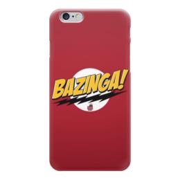 "Чехол для iPhone 6 ""Bazinga! (Шелдон)"" - the big bang theory, bazinga, теория большого взрыва"