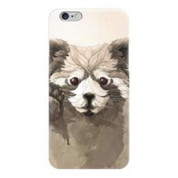 """Чехол для iPhone 6 глянцевый """"Малая панда"""" - арт, панда, panda, красная панда"""