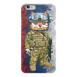 """Чехол для iPhone 6 глянцевый """"Вежливые Люди"""" - армия, вежливые люди, крым, политика, россия"""