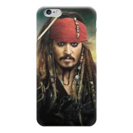 """Чехол для iPhone 6 """"Джек Воробей"""" - 78-12, 24&62"""