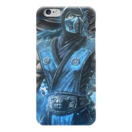 "Чехол для iPhone 6 ""Саб-Зиро (Мортал Комбат)"" - mortal kombat, sub-zero, мк"