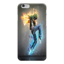 """Чехол для iPhone 6 """"танец"""" - музыка, танец, огонь, вода"""