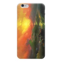 """Чехол для iPhone 6 """"Девятый вал (картина Айвазовского)"""" - картина, айвазовский"""