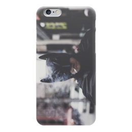 "Чехол для iPhone 6 ""Smoke Batman"" - black, batman, бэтмен, smoke, сигарета"