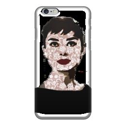 """Чехол для iPhone 6 """"Audrey Hepburn"""" - девушке, audrey hepburn, одри хепбёрн"""