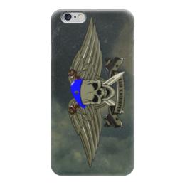 """Чехол для iPhone 6 """"ВДВ !!!"""" - крылья, армия, вдв, десант, голубой берет"""