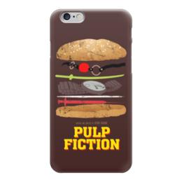 """Чехол для iPhone 6 """"Криминальное Чтиво (Pulp Fiction)"""" - криминальное чтиво, pulp fiction"""
