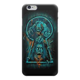 """Чехол для iPhone 6 """"Art Horror"""" - skull, череп, кровь, blood, ужасы"""