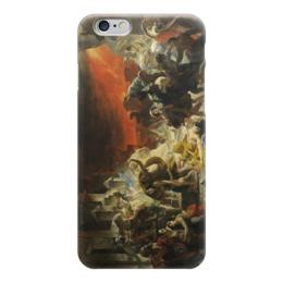 "Чехол для iPhone 6 ""Последний день Помпеи (картина Брюллова)"" - картина, брюллов"