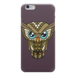 "Чехол для iPhone 6 глянцевый ""Сова для Iphone "" - подарок, сова, арт, глаза, iphone"