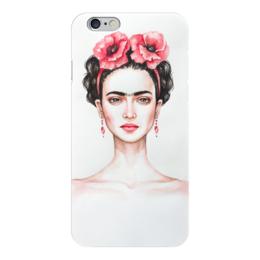 """Чехол для iPhone 6 """"Фрида"""" - портрет, фрида кало, фрида, художница, мексиканка"""