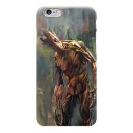 """Чехол для iPhone 6 """"Грут (Groot)"""" - комиксы, марвел, стражи галактики, guardians of the galaxy"""