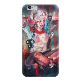 Чехол для iPhone 6 глянцевый "Харли Квинн" - харли квинн, комиксы, бэтмен, джокер, harley quinn