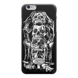 "Чехол для iPhone 6 глянцевый ""Skull Art"" - skull, череп, черепа, skulls, арт дизайн"
