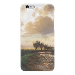 """Чехол для iPhone 6 """"Просёлок"""" - картина, саврасов"""