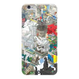 """Чехол для iPhone 6 глянцевый """"Париж"""" - париж, paris"""