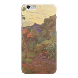 """Чехол для iPhone 6 """"Тропические растения"""" - картина, поль гоген"""
